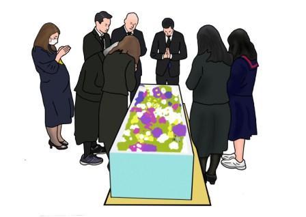 家族葬に呼ぶ人